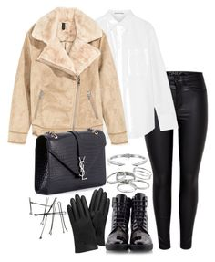 """""""Untitled #3081"""" by theeuropeancloset ❤ liked on Polyvore featuring Acne Studios, Yves Saint Laurent, Robert Clergerie, Kendra Scott, Vita Fede and Mulberry"""