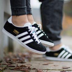 Gazelle Adidas noires