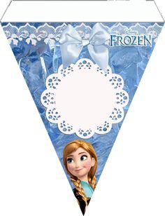 Kit de Festa Frozen para Imprimir - Uma Aventura Congelante - Toda Atual