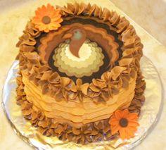 thanksgiving cakes   Be thankful cake! — Thanksgiving