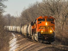 011615 BNSF 8515_1 - BNSF 8515 eastbound near the west end of Chadwick 01/16/15