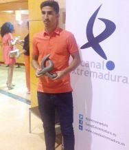 El jugador de fútbol almuñequero Víctor Armero, que milita en el Club Arroyo de Extremadura
