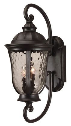 View the Craftmade Z6020 Frances 3 Light Outdoor Wall Sconce - 12 Inches Wide at LightingDirect.com.