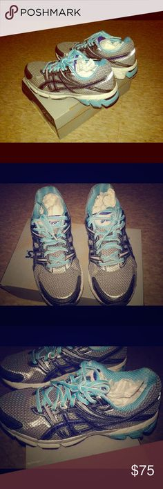 Women's Asics shoes size 7 Women's Asics shoes size 7. Only worn a few times, like new condition. Asics Shoes Athletic Shoes