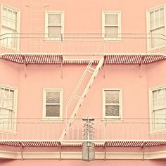 Happy Pink House - iPhone photo
