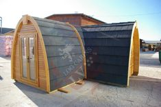 Best Windows, Windows And Doors, Small House Kits, Pods For Sale, Earth Bag Homes, Camping Pod, Timber Structure, Adventure Holiday, Log Cabins