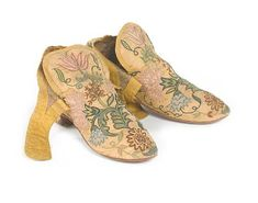 Pair of 18th Century Lady's Shoes, Owned by Department Store Mogul, to Sell @ Bonhams
