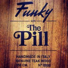 Funky X The Pill magazine!!! TrueWood!! #funky #snowboard #handmade #madeinitaly #snowboard