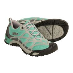 Keen Shellrock Hiking Shoes (For Women) in Canton/Drizzle Hiking shoes.