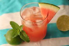 in the Hopeful Kitchen: Watermelon Mojitos