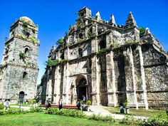 carlotroyacelott Paoay Church is one of the oldest churches in the Philippines, having completed its construction in It was declared as a National Cultural Treasure by the Philippine government in 1973 and was then included in the list of UNESCO Worl Philippines Culture, World Heritage Sites, Baroque, Barcelona Cathedral, Old Things, Construction, Group, Travel, Life