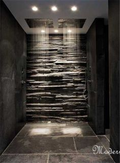 TWO rain showers! YES! I need this in my next home!!!!