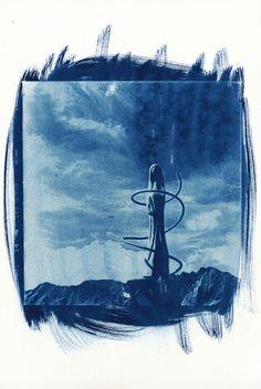 cyanotype © jürgen modis - süd-tirol