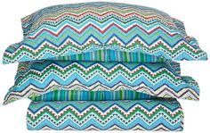 Share this with your friends and save 10% now Quilt Set   3-Piece Zig-Zag   Queen XL Size