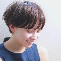 大人の女性はやっぱりショートが似合う♡夏におすすめの丸みショートヘア特集 | folk