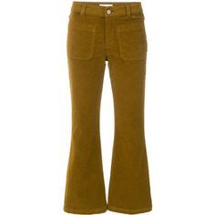 See By Chloé cropped corduroy trousers