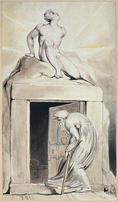 "William Blake - Death's Door (for Blair's ""The Grave"")."
