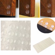 DIY Cabinet Door Bumper Pads with Silicone Caulk | Simple ...