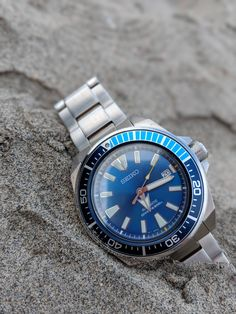 [Seiko] A beach day with the Blue Lagoon