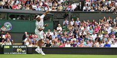 Nadal vence cómodamente a Bellucci en su debut de este año en Wimbledon.