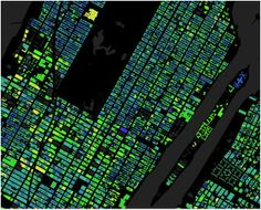 Curious how old a building is in Manhattan? Here are the ages of 1 million New York building, mapped in glorious color.