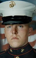 Marine Lance Cpl. Justin D. Sims Died April 15, 2006 Serving During Operation Iraqi Freedom 22, of Covington, Ky.; 3rd Battalion, 8th Marine Regiment, 2nd Marine Division, II Marine Expeditionary Force, Camp Lejeune, N.C.; killed April 15 when his Humvee struck an improvised explosive device during combat operations in Anbar province, Iraq.