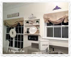plate rack and sign