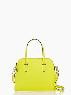 Pretty yellow Kate Spade purse - Cedar Street Maise