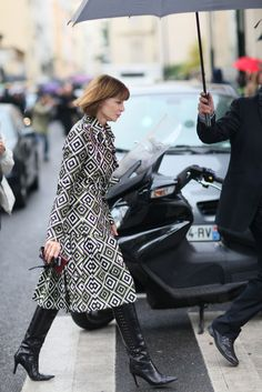 The Simply Luxurious Life: Style Inspiration: Paris FW & Layers of Fall