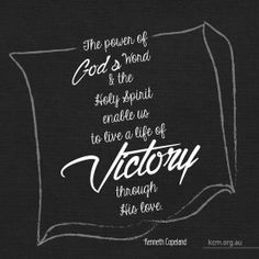 Live a life of VICTORY! - Kenneth Copeland