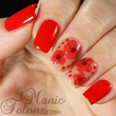 Nailpolis Museum of Nail Art | Dried Flowers in Gel Polish by ManicTalons