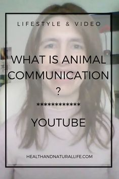 If you're an animal lover, this series of videos is for you. Learn all about animal communication! :)