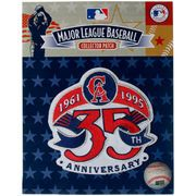 Los Angeles Angels of Anaheim 35th Anniversary and Commemorative Patch