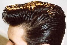 SlickVille.com Slick Hairstyles, Classic Hairstyles, Greaser Hair, Modern Pompadour, Brylcreem, Rockabilly, Slicked Hair, Hair Beauty, Male Hair
