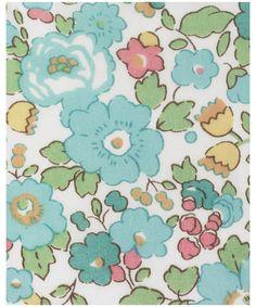 Betsy D Tana Lawn, Liberty Art Fabrics - liberty of london
