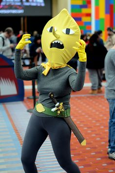 """UNACCEPTABLE"" ~Lemon Grab (Adventure TIme) 