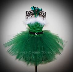 Winter Tutus | Santa Baby Christmas Tutu Dress in Kelly | Winter/spring Holiday Tutus