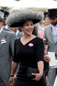 Princess Haya bint Al Hussein attends the first day of The Royal Ascot race meeting on June 14, 2016 in Ascot, England.