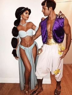 Omg, Halloween is literally just here. And all the planning and plotting has started. Obviously, you wanna look THE BEST, hand in hand with your boyfriend/husband. But you just can't decide for the life of you, what you and your partner should wear that will steal the light.