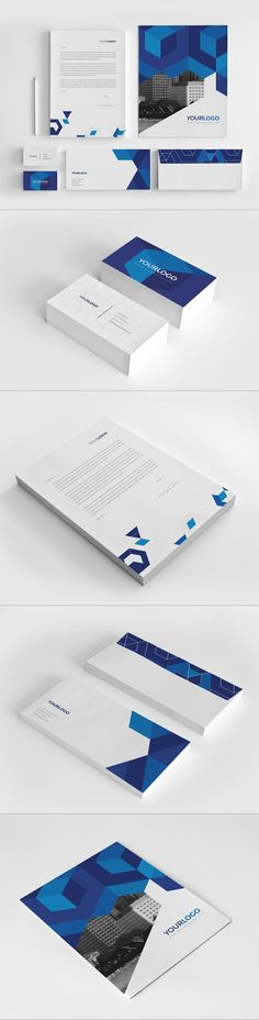 Business Stationery Pack. Download here: http://graphicriver.net/item/business-stationery-pack/7596178?ref=abradesign #design #stationery