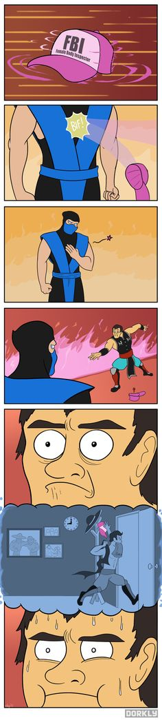 If you played Mortal Kombat you'll get it