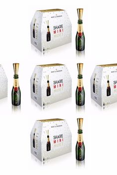 OMG Moët Now Sells Mini Bottles of Champagne by the Like Beer Mini Champagne Bottles, Mini Wine Bottles, Champagne Party, Champagne Campaign Bachelorette, Beer Bottles, Champaign Birthday, Party Favors For Adults, Birthday Favors, 60th Birthday