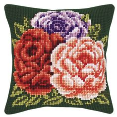 Embroidery Stitches, Hand Embroidery, Bargello, Cross Stitch Flowers, Cherub, Elsa, Cushions, Throw Pillows, Decor