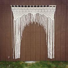 Large Macrame Wedding Arch