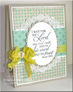 Card by Kristina using Verve Stamps.