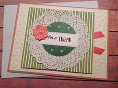 Handmade card, friendship card,homemade cards,any occasion card, handmade blank card, shabby chic cards