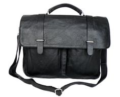 <h3>The Most Suitable Bag for Organized Men</h3><br>Just like the ladies, men also tend to carry a lot of things and items with them wherever they go. This is the reason why they also need bags that can allow them to bring all their valuables and at the same time, keep these items properly organized. This black bag made from the highest grade of cowhide leather is complete with all the pockets, slots and compartments that you can ever ask for, thus ensuring that nothing will go amiss no…