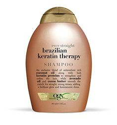 OGX Ever Straight Brazilian Keratin Therapy Shampoo 13 OZ Pack of 4  Vitaminder Power Shaker Bottle 20 oz Bottle >>> Check this awesome product by going to the link at the image.(This is an Amazon affiliate link and I receive a commission for the sales) #DailyShampoo