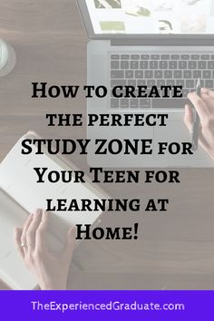 Many students who may struggle in school do not take much consideration about where they complete their homework and schoolwork assignments. They may finish schoolwork in front of the television, or in a noisy room with lots of distractions. This is NOT conducive to learning, nor will it benefit them in their education. Here is how to create the perfect study zone for at home learning! parenting teens, high school help, study skills for teens, parenting tips, high school hacks Saving For College, College Tips, High School Hacks, Essay Tips, Study Techniques, Organization Skills, Academic Success, Study Help, Study Skills