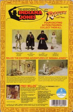 Raiders of the Lost Ark action figures
